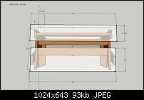 DIY Studio Desk/Keyboard Workstation under 0-studio-desk-dimensions-desk-frame-top-view.jpg