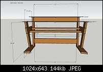 DIY Studio Desk/Keyboard Workstation under 0-studio-desk-dimensions-desk-frame-front-view.jpg