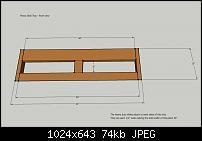 DIY Studio Desk/Keyboard Workstation under 0-studio-desk-dimensions-piano-slide-tray-front-view.jpg