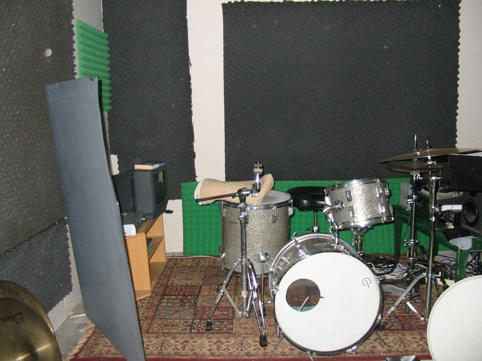 Low Cost Acoustic Drum Room Treatment Gearslutz Com