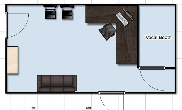 mixing room help monitor placement gearslutz pro audio community. Black Bedroom Furniture Sets. Home Design Ideas