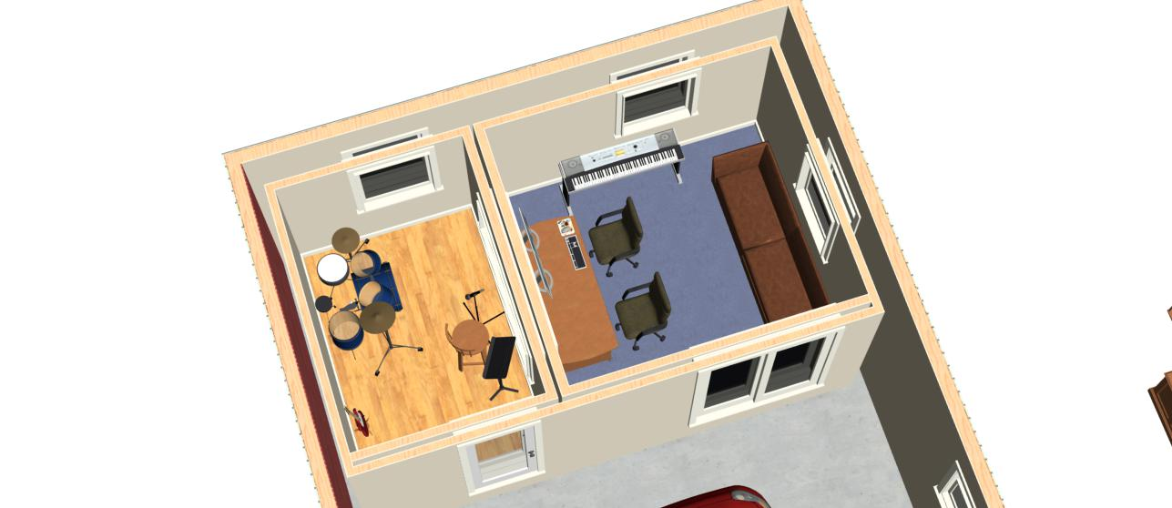 blueprints2jpg recording studio design in virginia usa modeljpg - Home Recording Studio Design Plans