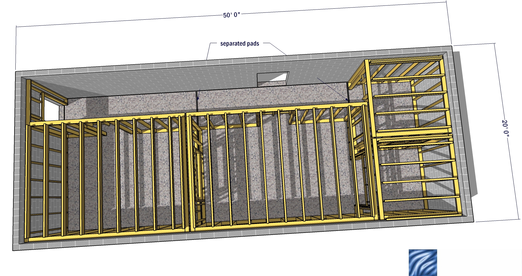 Design house 20x50 - Help Me Design A 20 X 50 Studio Lsp Studio Jpg