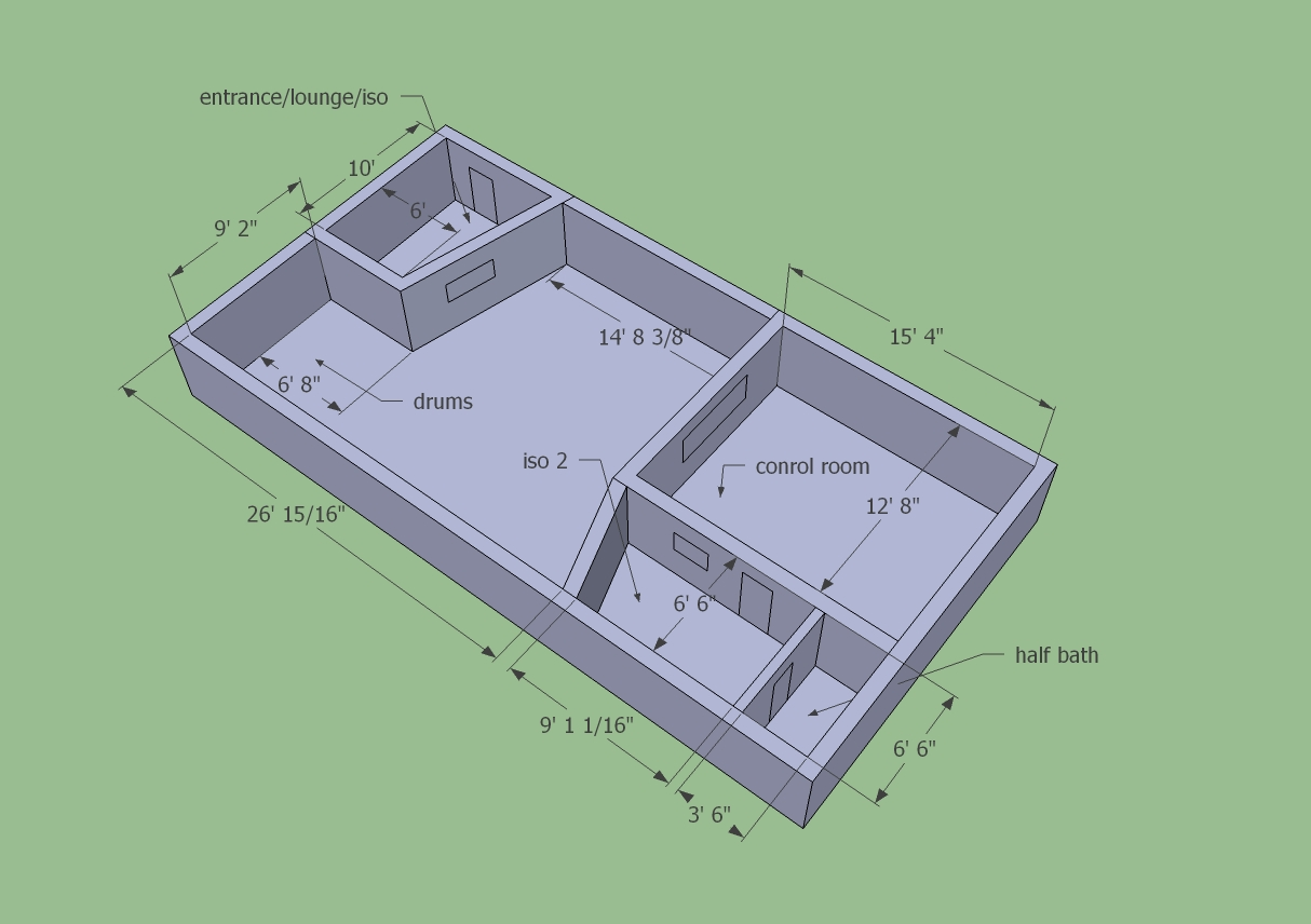 Help me design a 20 39 x 50 39 studio page 3 for 50 x 80 apartment plans