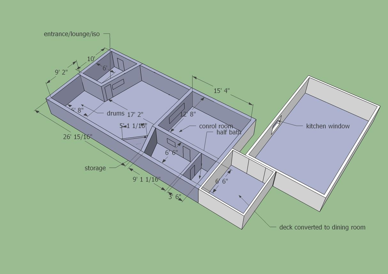 Help Me Design A 20 X 50 Studio Page 3 Gearslutz