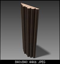 DIY Sound Diffusers—Free Blueprints—Slim, Optimized DIY Diffuser Designs (+Fractals)-diffuser-b2-fractal-module-solid2-w840x840.jpg