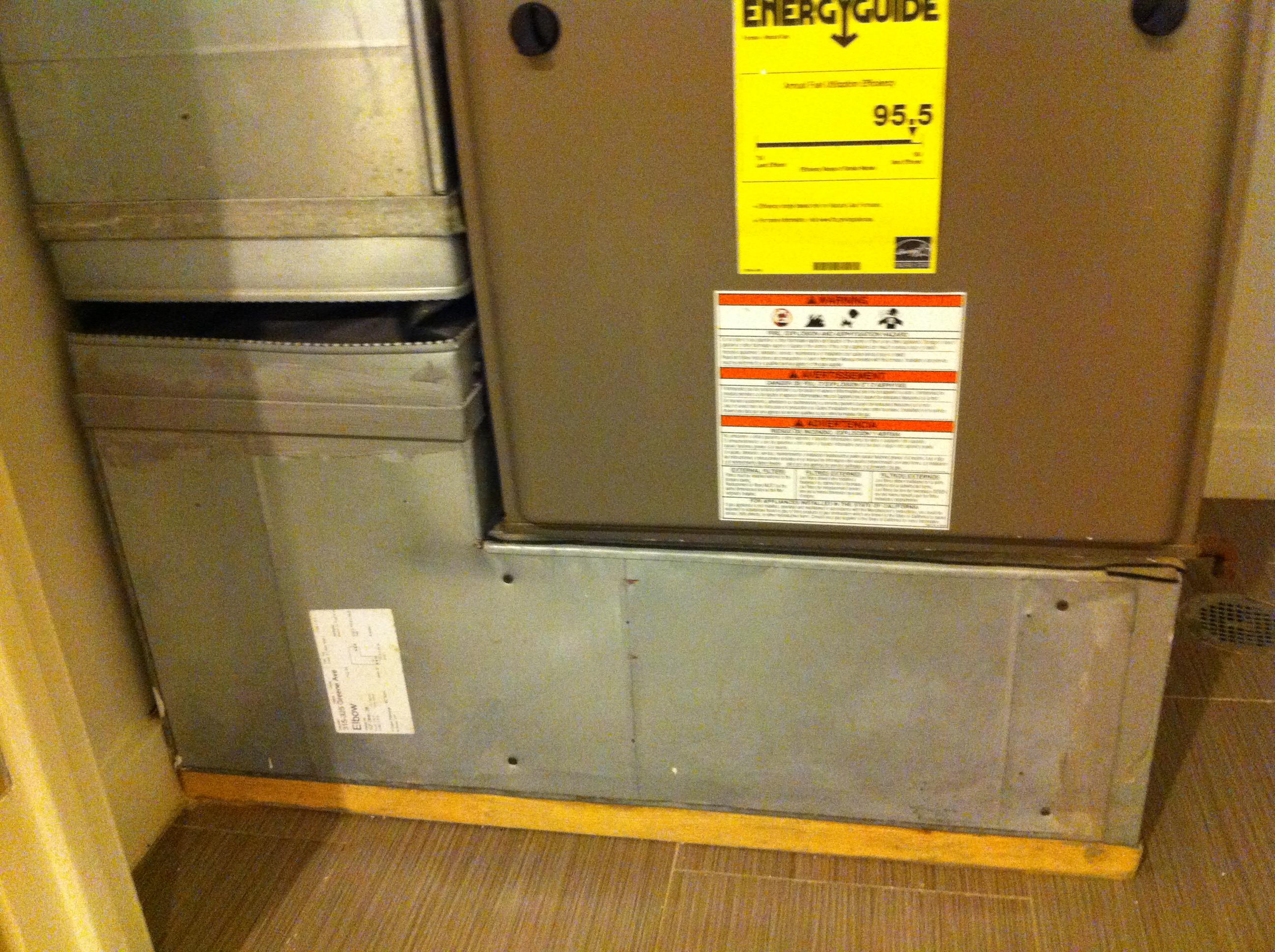 ... HVAC/Air Handler Closet Img_2180