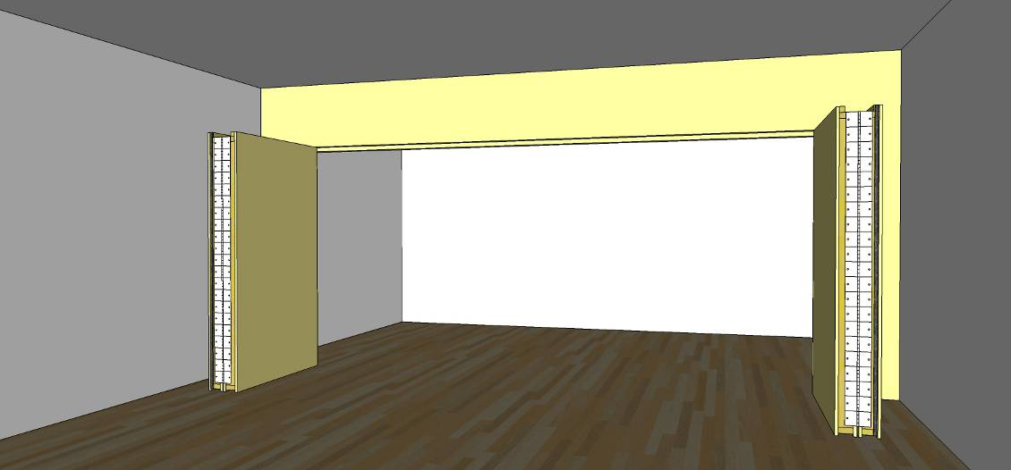 ... Forum Challenge: A Movable Wall 2b Bifold Wall Doors Open ...