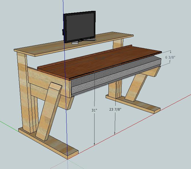 Sub 50 Workstation Desk Project Gearslutz Com