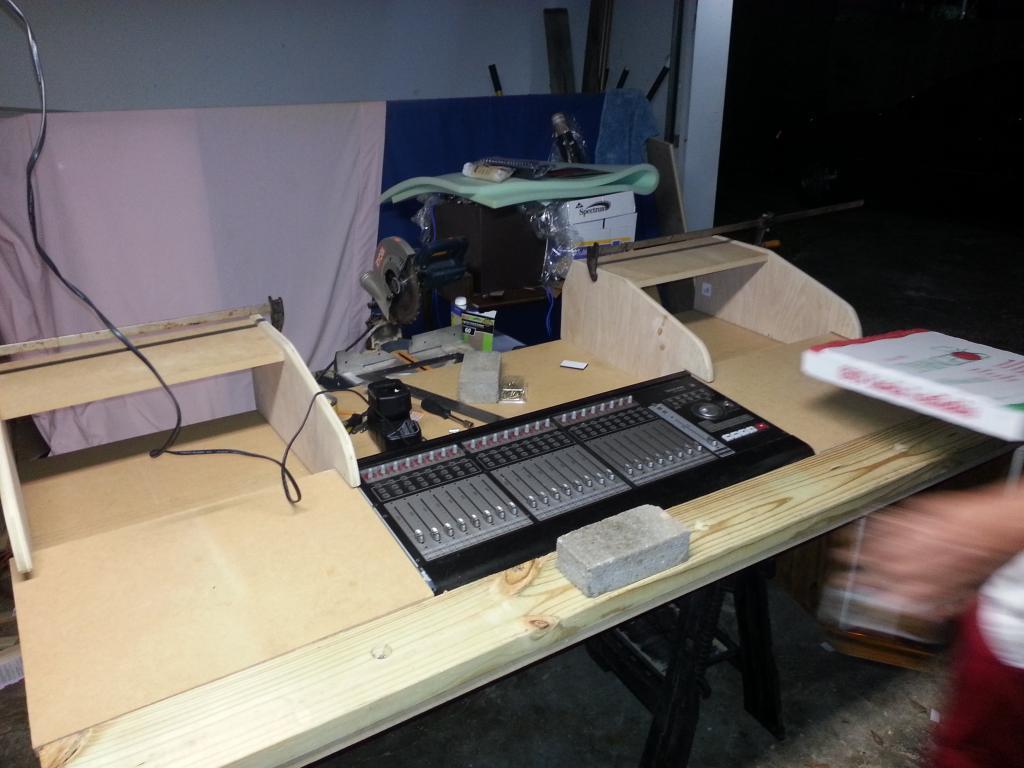 Another Diy Studio Desk Gearslutz Com