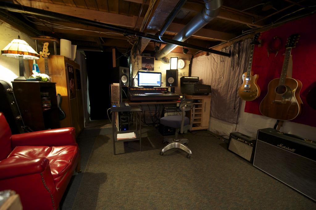 Akward Basement Studio