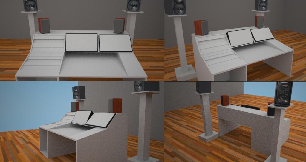Check Ou My New Studio Desk Gearslutz Pro Audio Community