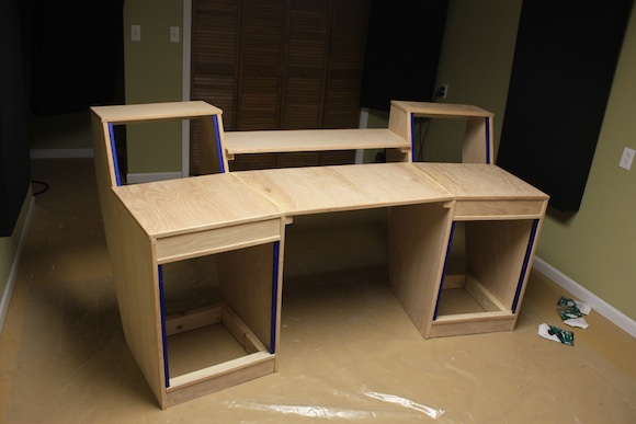 Diy desk building