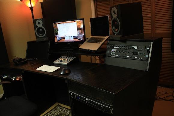 Diy computer desk for amazing studiio ideas