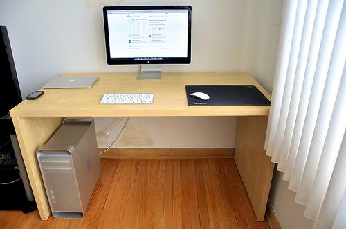 Building A Desk With Midi Keyboard Tray Desk1 Jpg
