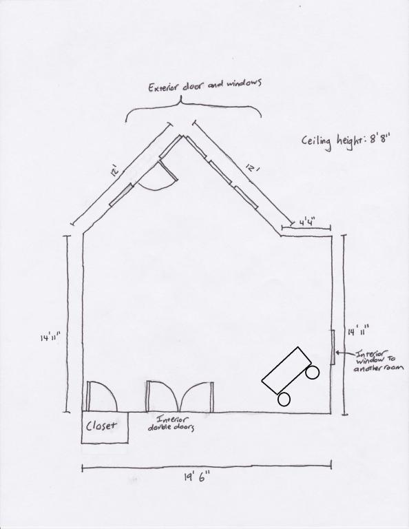 Asymmetrical Room Questions