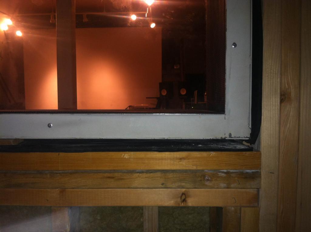 Photo 5 Insulating Around Prefab Studio Window Already Installed Sprayfoam