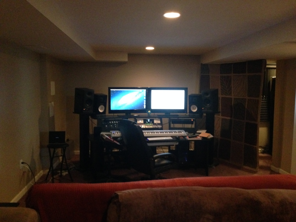 ... DIY Acoustically Treating An Open Finished Basement Img_3407 ...