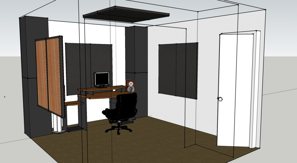 Please Help Small Control Room Tracking Acoustic Treatment Soundproofing Studio