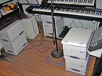 Bass traps enclosed in cardboard boxes? What do you guys think?-underdeskboxes_web.jpg