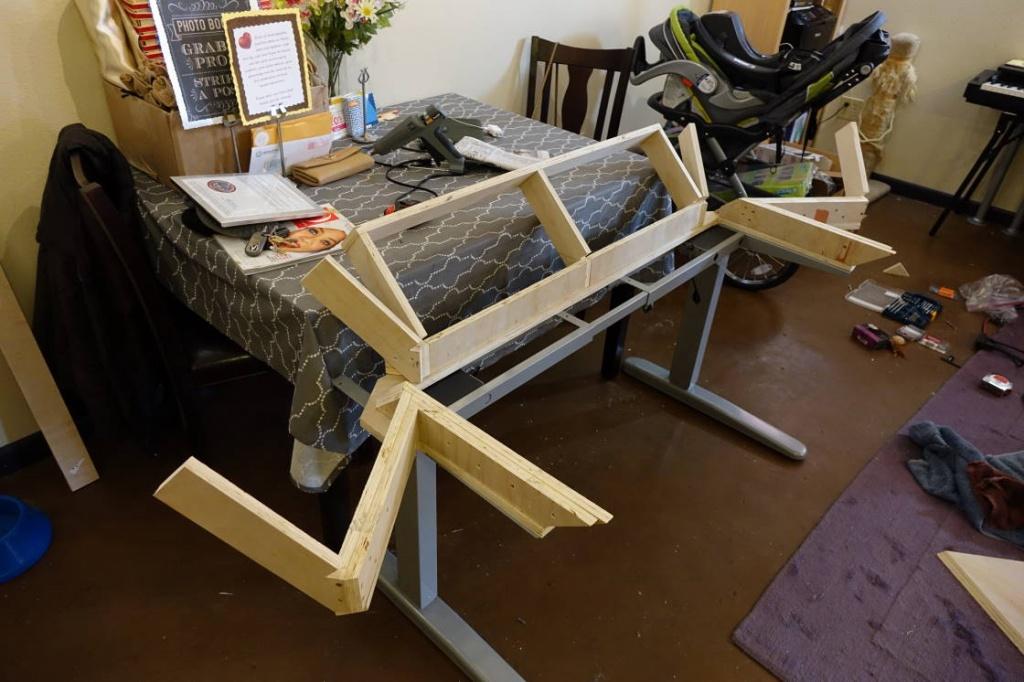 Sit Stand Desk Build With Motorized Frame Gearslutz Pro