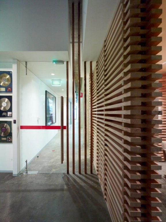 Wood Slat Wall wood slat walls in acoustic spaces / or, unique looking walls