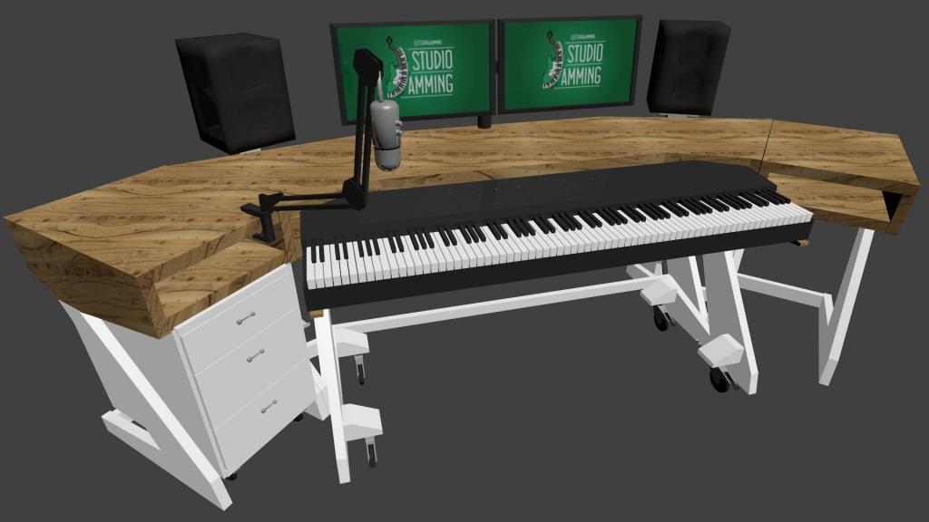 used pianos into desks | just b.CAUSE