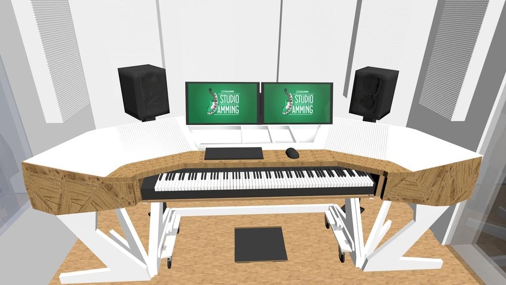 88 Keyboard Studio Desk Hostgarcia