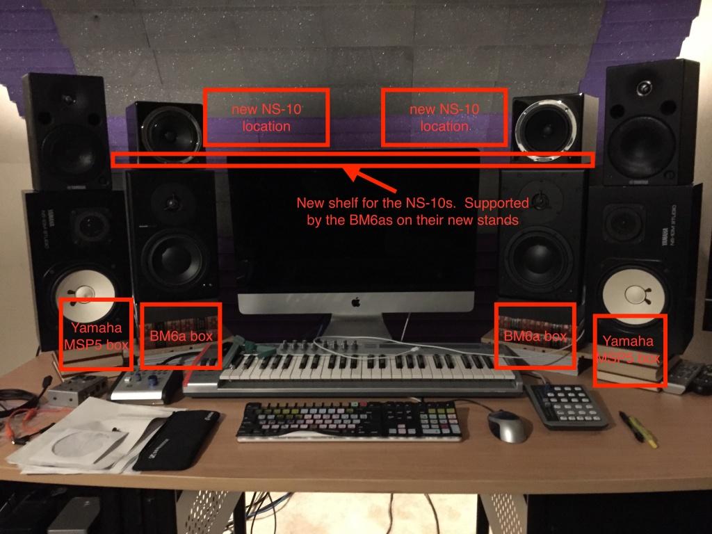 diy desk speaker stands help please gearslutz pro audio community. Black Bedroom Furniture Sets. Home Design Ideas