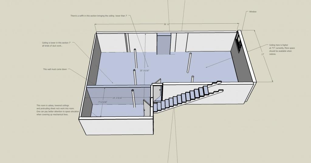 Basement Layout Design