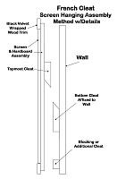 DIY Sound Diffusers—Free Blueprints—Slim, Optimized DIY Diffuser Designs (+Fractals)-frenchcleatscreenhangingmethod.jpg