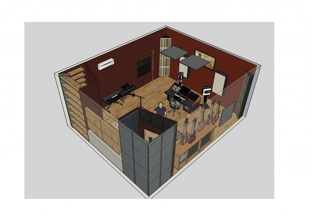 What do you think of my recording studio Layout? - Gearslutz