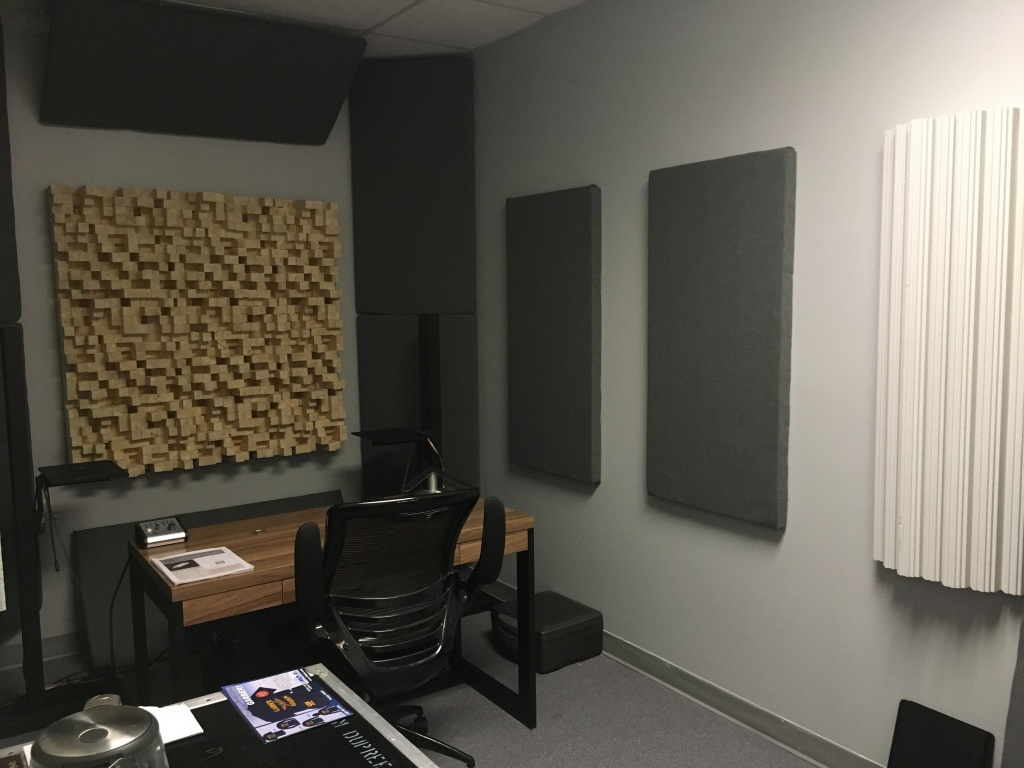 hanging a 180 pound skyline diffuser gearslutz pro audio. Black Bedroom Furniture Sets. Home Design Ideas
