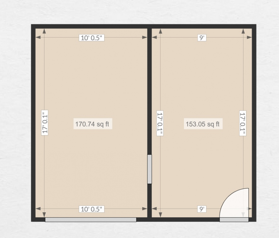Help proposed floor plans for garage conversion project for Garage floor plan software