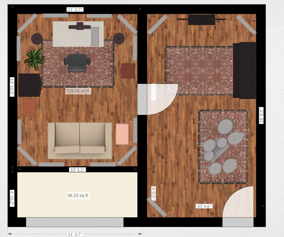 Help Proposed Floor Plans For Garage Conversion Project