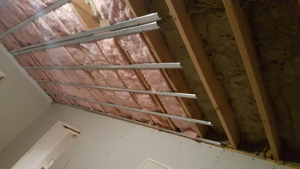 soundproofing my basement ceiling-thumbnail_20180622_205311.jpg & soundproofing my basement ceiling - Gearslutz Pro Audio Community
