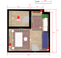 decision support aid: which acoustic treatment strategy for this room?-groundplan-w-measures.png