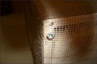 Is it safe for the back of acoustic panels to be wrapped with mesh, but still exposing rock wool?-2395hook.jpg