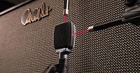 Guitar Cabinet Mic Shootout - by Sweetwater's Lynn Fuston-laser-mic-calibration.jpg