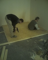 Signed the lease, paid the deposit...oh crap now the hard work really begins!-floorgoingdown.jpg