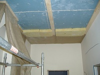Signed the lease, paid the deposit...oh crap now the hard work really begins!-drumroom-ceiling-progress.jpg