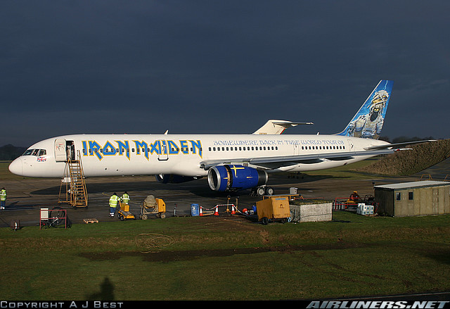 iron maiden s plane ready to hit the road gearslutz pro audio community. Black Bedroom Furniture Sets. Home Design Ideas