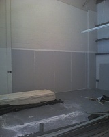 Signed the lease, paid the deposit...oh crap now the hard work really begins!-one-wall-sealed.jpg