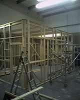 Signed the lease, paid the deposit...oh crap now the hard work really begins!-2nd-room-frame-goes-up.jpg