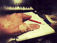 One man music production.....Let's hear the MUSIC!-hollow-pencil.png