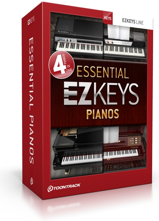 ToonTrack EZkeys Essential Pianos Review – The Song Writer's Piano Friends
