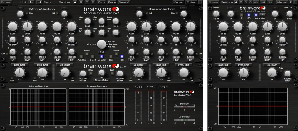 Brainworx bx_digital V2 EQ Plug-In