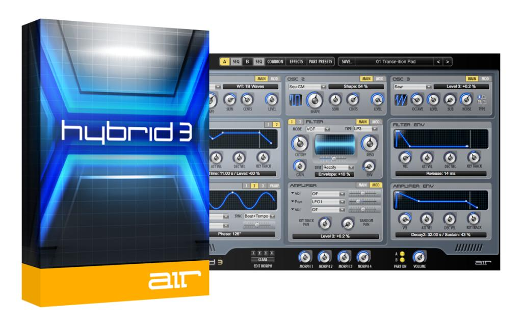 AIR Music Technology Hybrid 3