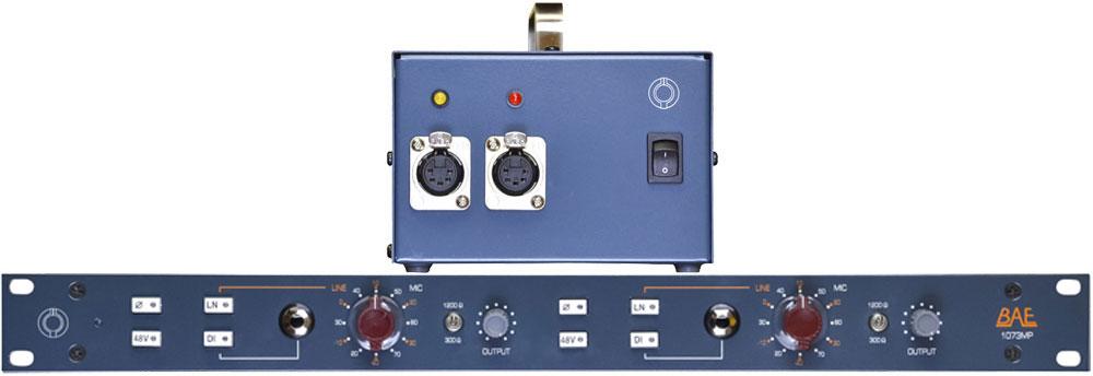 BAE Audio 1073MP Dual-Channel Mic Pre with PSU