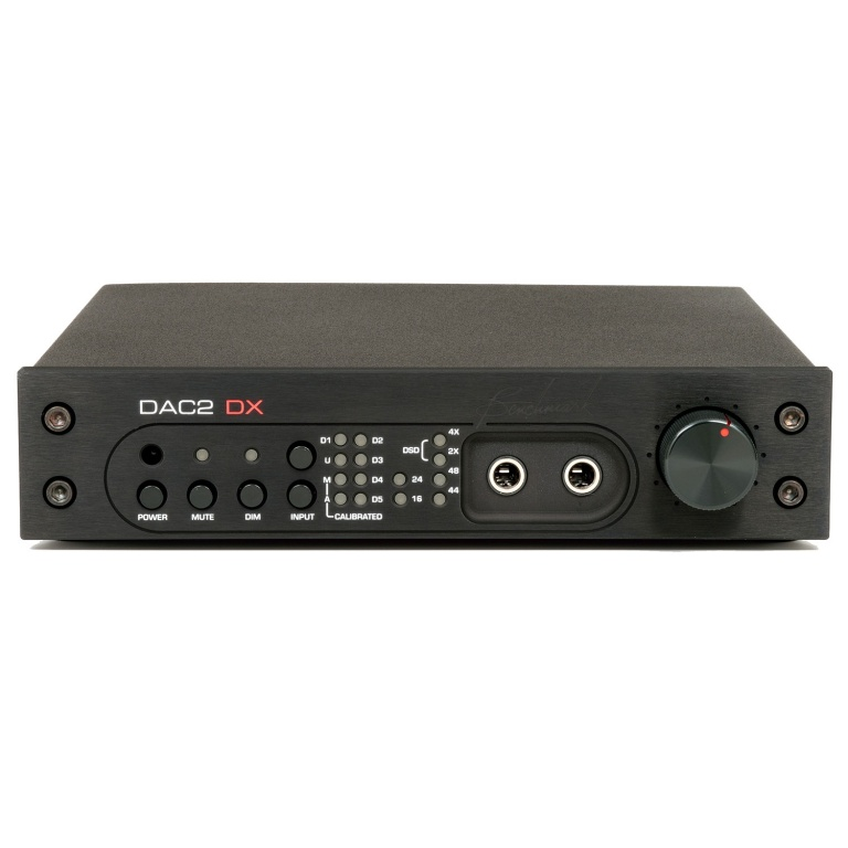 DAC2 DX - Black with remote control